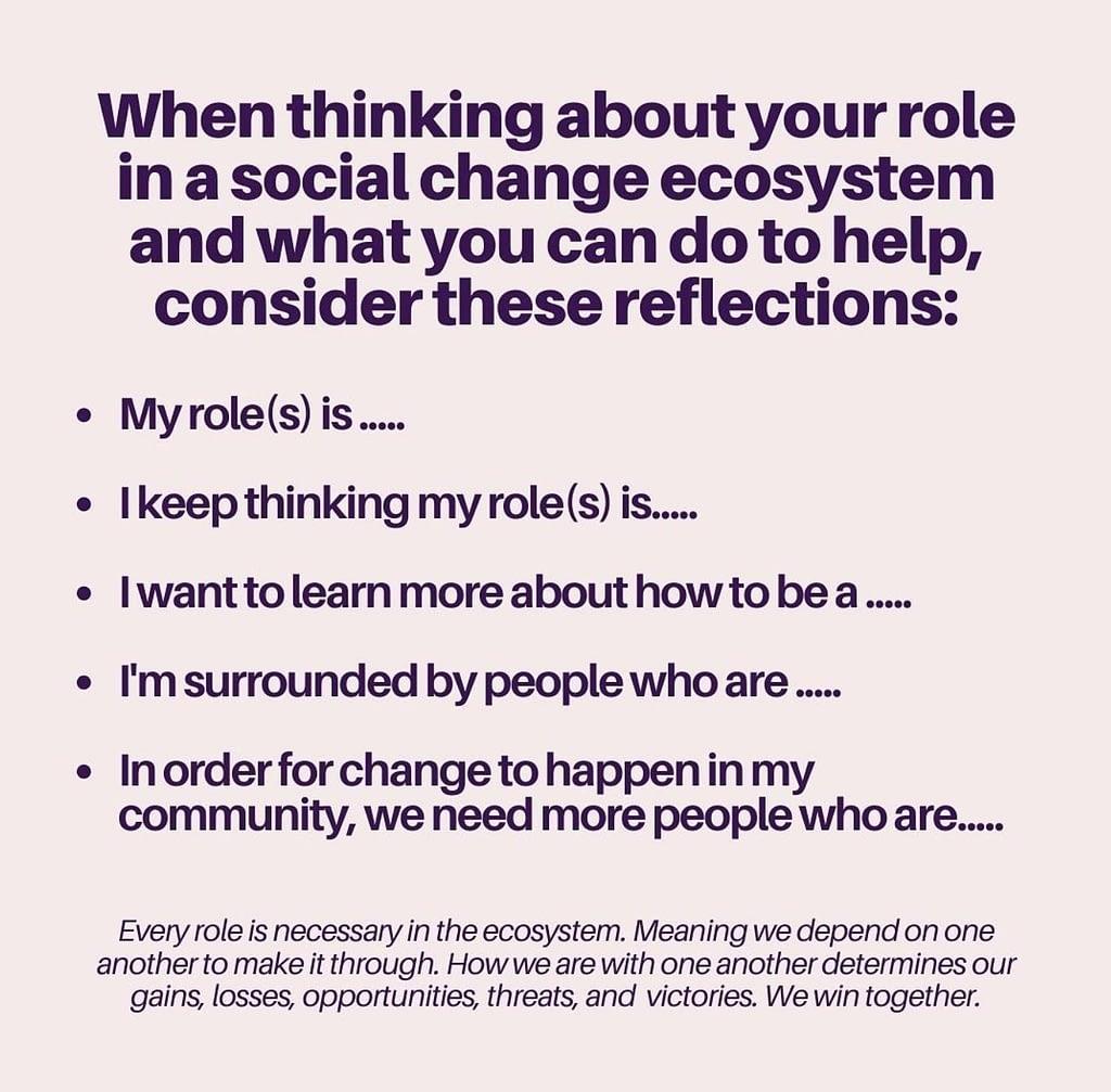 Social Change Ecosystem