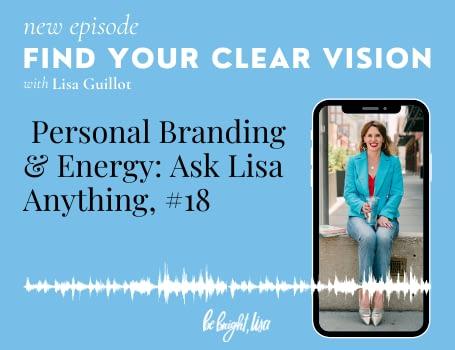 Personal branding & energy