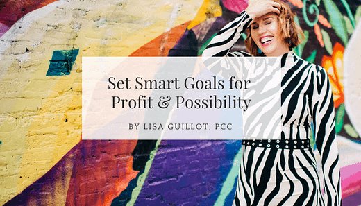 set smart goals for creative leaders