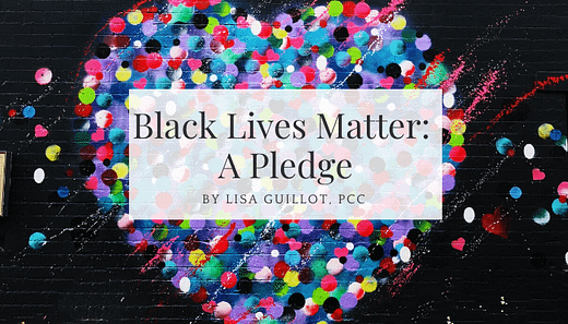 black lives matter, a pledge for change and action
