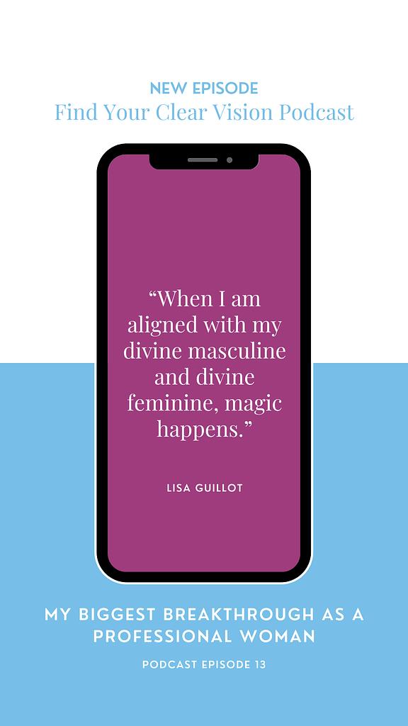 divine feminine and divine masculine aligned