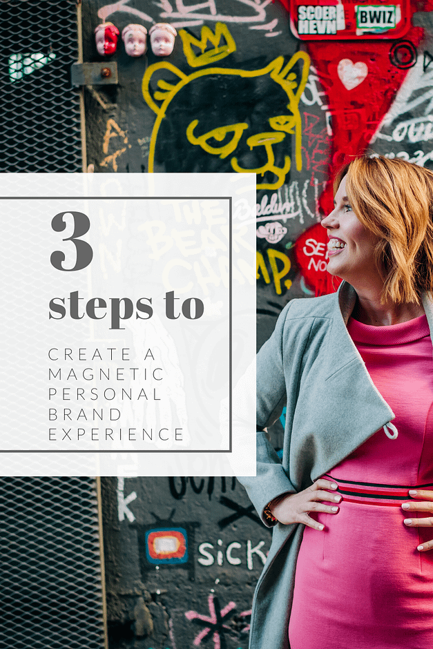 3 steps to create a personal brand